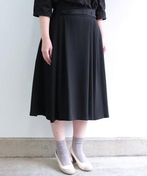 【筆記帳刺繍】飾りベルトのフォーマルスカート