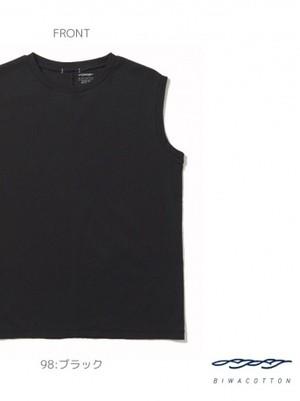 【BIWACOTTON】ユニセックス ノースリーブTシャツ