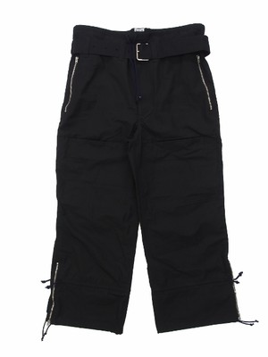 FLIGHT PANTS BLACK 18AW-FS-30