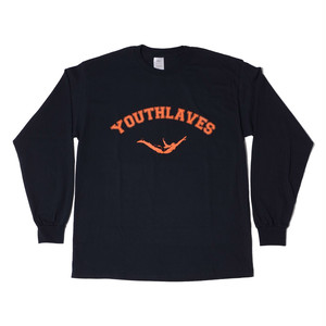YOUTHLAVES L/S Tee -Black-