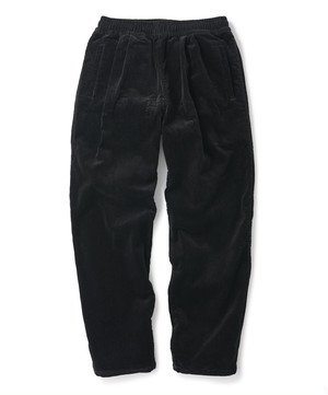 FTC / CORDUROY EASY PANT -BLACK-
