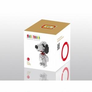 LOZ 9330 ダイヤモンドブロックス スヌーピー / Diamond blocks Snoopy 1個/130pcs