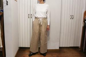 Gauze#_ROOMY LONG PANTS/FREEサイズ
