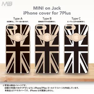 iPhone7Plus ブラックジャックスマホカバー MINI on Jack-3
