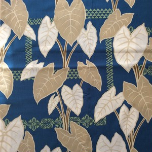 USA Cotton Hawaiian Fabric     タロリーフ