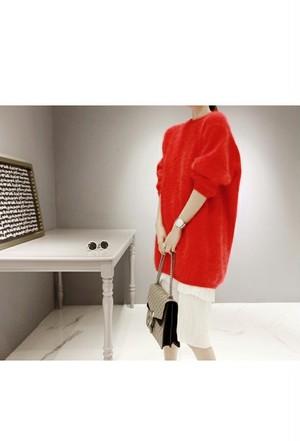 color fur knit
