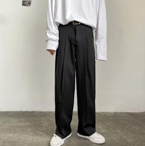 【翌日発送/数量限定】【人気NO.28】Street style straight pants LD0573