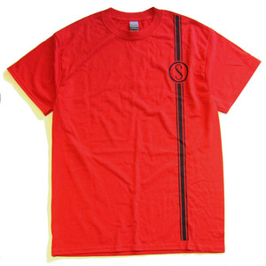 Colon Cycle shop tee shirt, red