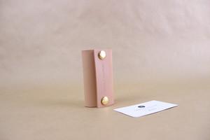 JAPAN LANSUI DESIGN 名入れ対応 ヌメ革手作り キーケース 品番HJ8JHYY6TD