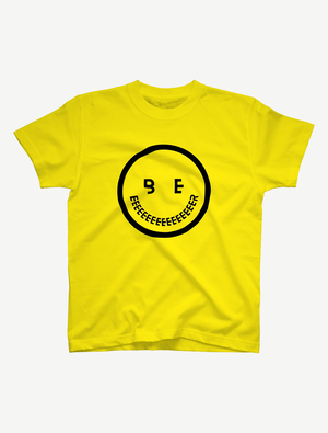 【smile】Tシャツ(イエロー)
