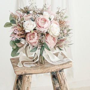 【再販】Spring Pink Bouquet&Boutonniere