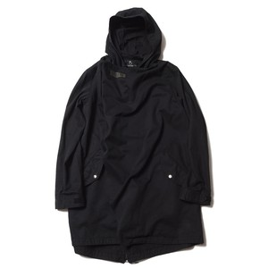 VIRGO VGW DRAPE MODS COAT / ヴァルゴ コート / BLACK / VG-JKT-208