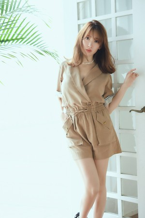 Cotton Blend Playsuit