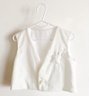 hopea - kids vest - milk (order)