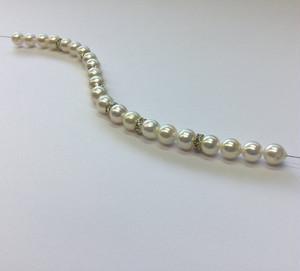通し連ロンデル入り7㎜-8㎜【訳あり】【あこや真珠】ルースren_0002