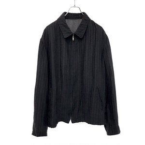 Y'S FOR MEN ZIP UP STRIPE SHIRT