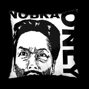 """NO BRA ONLY""クッションカバー"