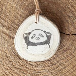 ベビーパンダちゃんの木ーホルダー