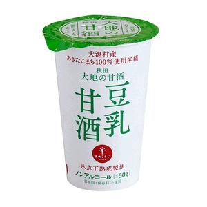 大地の甘酒 豆乳甘酒 150g 12本【秋田工場直送】