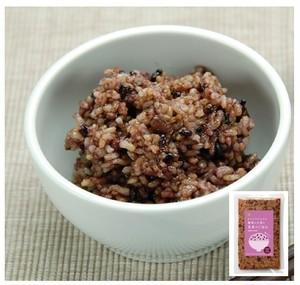 黒米と小豆と玄米のごはん <マクロビ・ビーガン対応/添加物・香料・保存料・着色料・化学調味料・白砂糖・乳製品・卵不使用>