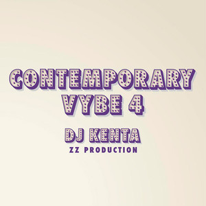 【予約/CD】DJ KENTA(ZZ PRODUCTION) - Contemporary Vybe4