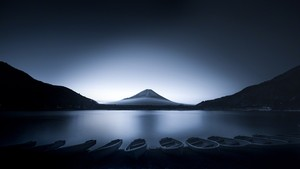 Boats at dawn:黎明のボート