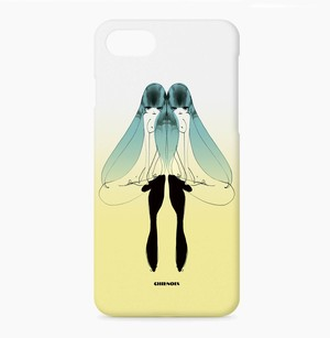 iphoneケース 双子の青い鳥 01 黄 Mon les oiseaux bleu