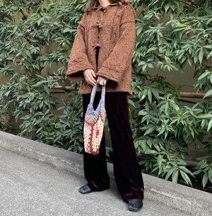 (LOOK) velours flare pants