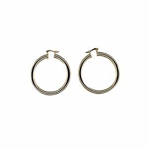 【GF2-19】gold filled hoop earrings