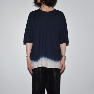"""All Matching  BIG-T """"ICE COTTON"""" 〈D.Navy〉"""