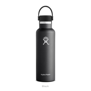 【Hydro Flask】HYDRATION 21 oz Standard Mouth - Black