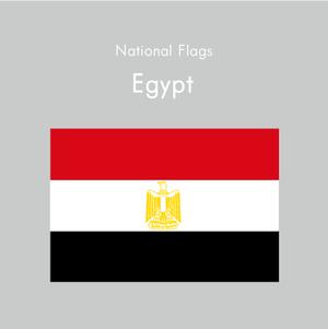 国旗ステッカー エジプト