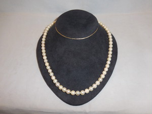 真珠ネックレス(ビンテージ) vintage pearl necklace