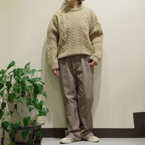 Cotton Check Pants / チェック パンツ