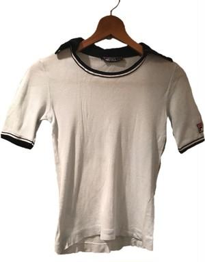 ヴィンテージ FILA テニスシャツ blue