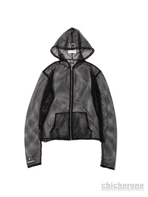 【SILLENT FROM ME】INVISIBLE -Net Ziphood- BLACK