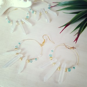 crystal accessory(white)