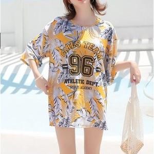【ビギニ/水着】韓国系プリントファッション水着30627383