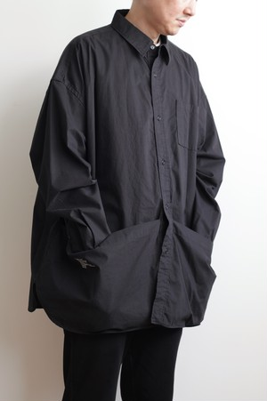 【FreshService(フレッシュサービス)】Tool Pocket Regular Collar Utility Shirt(ツール ポケット レギュラー カラー ユーティリティ シャツ)