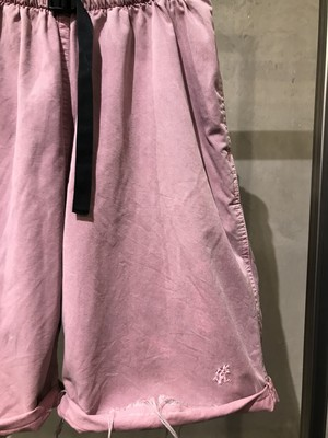 pre-fix climbing shorts with effect - fade pink