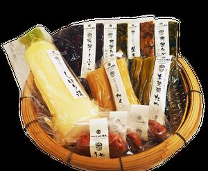 お漬物詰合セット(3,240円)