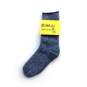 DE-NA-LI × fridge Cashmer Suave Socks / Green