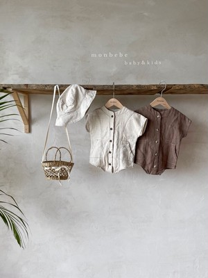 monbebe / リネンジャンプスーツ