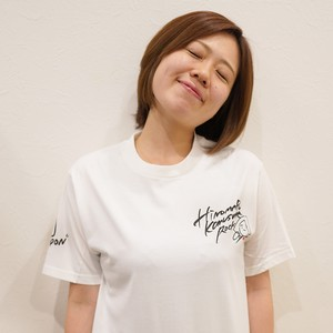 自筆イラストTシャツ(A-小娘ロック)