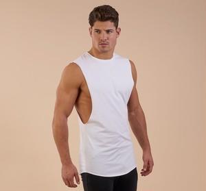 GymShark ジムシャーク eaze sleeveless – ホワイト【White】 メーカー直輸入品!