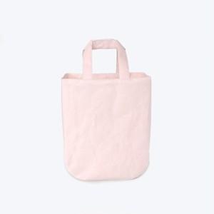 和紙日常品ブランド バッグ ラウンド 【限定色ピンク】