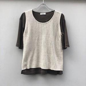 (PAL) knit vest