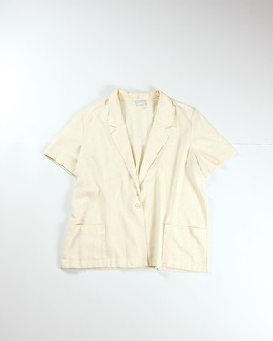 Unconstruction s/s jacket(Ivory)