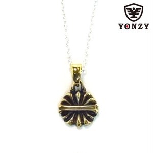 Lotus Necklace Brass