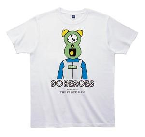 《JUN OSONTシャツ》90HEROES TJC019/ 【時計マン】